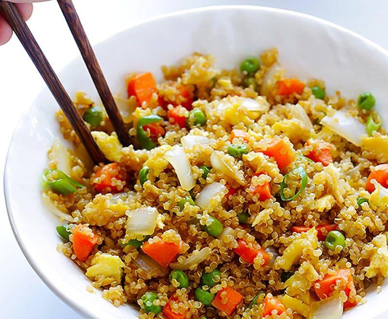 Hạt Quinoa - hạt diêm mạch được sử dụng như một lương thực dinh dưỡng