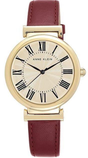 Đồng hồ Anne Klein nữ AK/2136CRBY thiết kế đơn giản nhưng không kém phần sang trọng