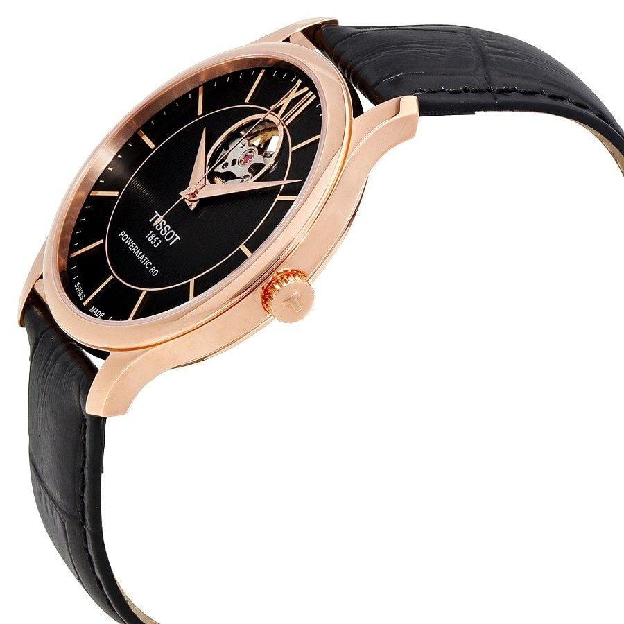 Case đồng hồ được mạ vàng hồng sang trọng