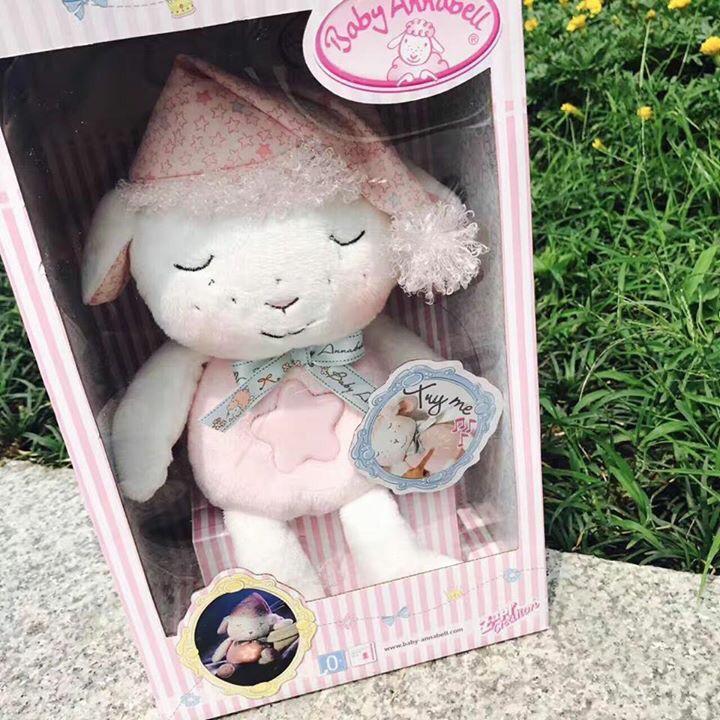 Cừu ru ngủ My first Baby Annabell có hộp đựng xinh xắn