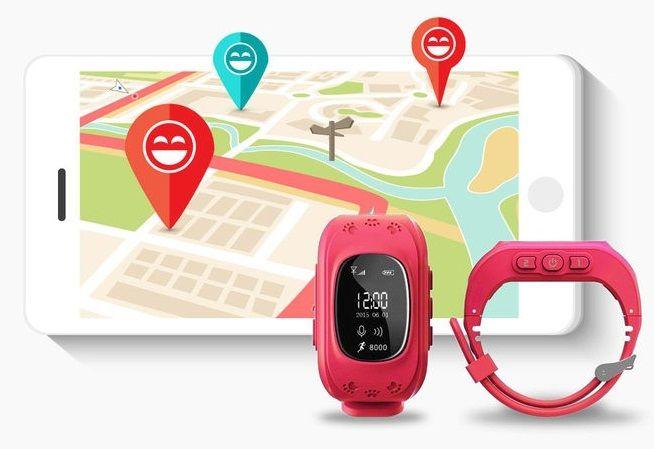 Đồng hồ định vị trẻ em Q50 giúp bạn dễ dàng xác định vị trí của bé