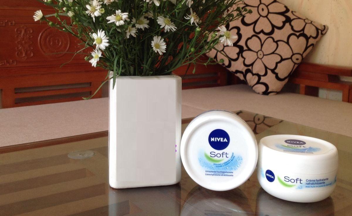 Kem dưỡng ẩm Nivea Soft - cấp ẩm, chống nẻ hiệu quả