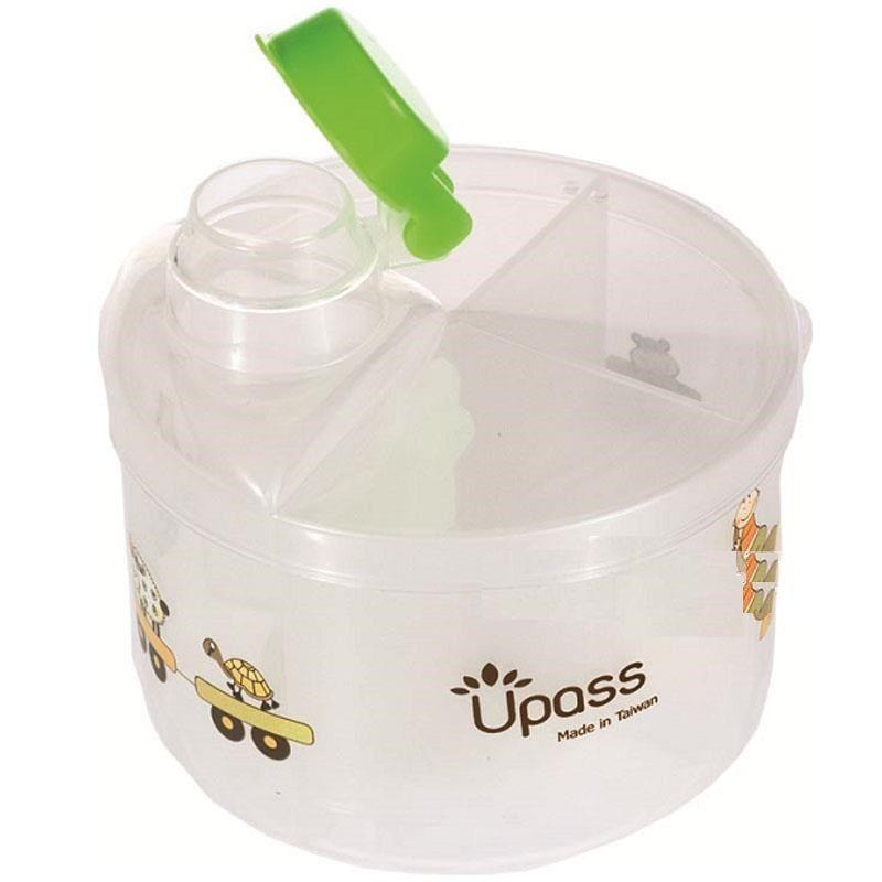 Hộp chia sữa, đựng bột tròn 4 ngăn Upass UP8005C 1