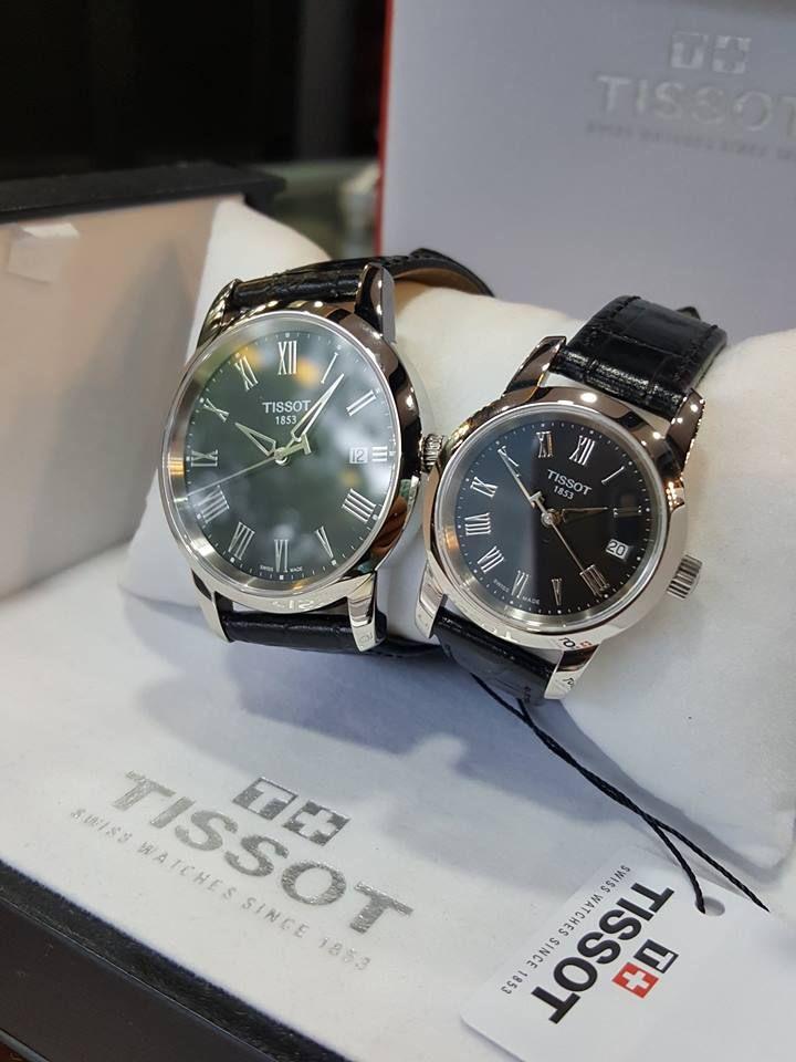 Đồng hồ đôi Tissot T033.410.16.053.01 -  T033.210.16.053.00 2