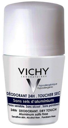 Lăn khử mùi Vichy của Pháp màu trắng xám