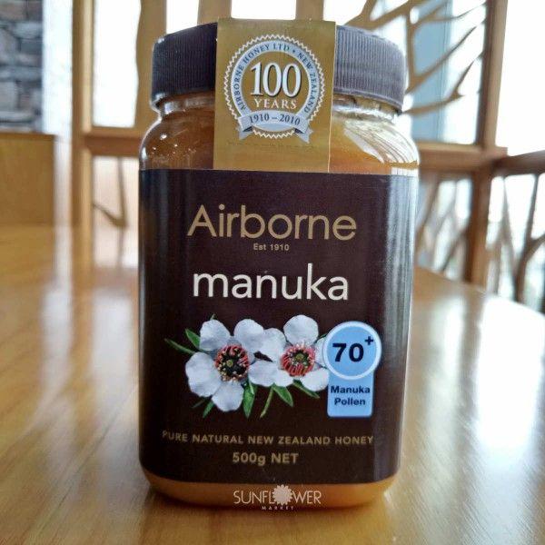Mật ong Manuka Airborne 70+ New Zealand