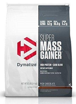 Sữa tăng cân Super Mass Gainer 12 Lbs (5,4kg) mẫu mới 2017