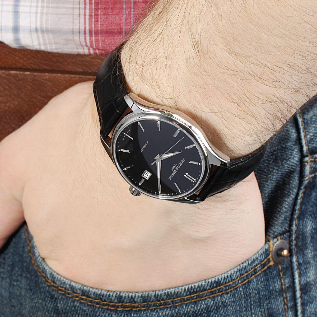 Đồng hồ Frederique Constant FC-303B5B6 dây da 5