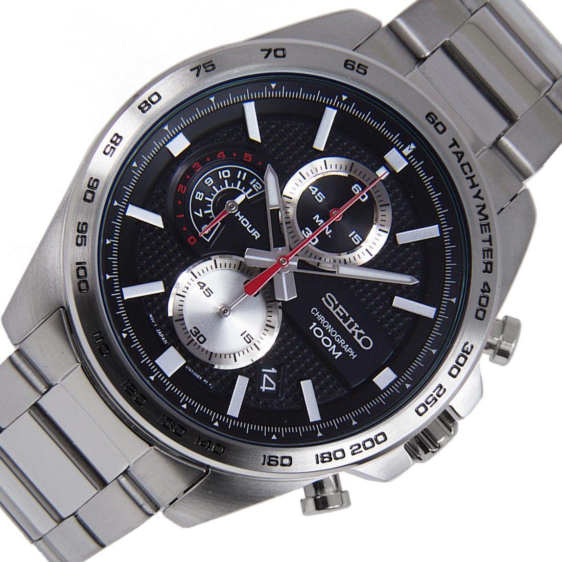Đồng hồ Seiko Chronograph SSB255P1 cho nam 3