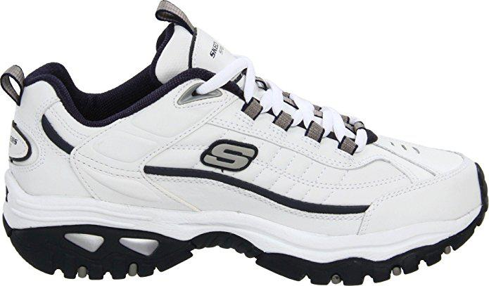 Giày thể thao nam Skechers Energy Afterburn White/Navy 6