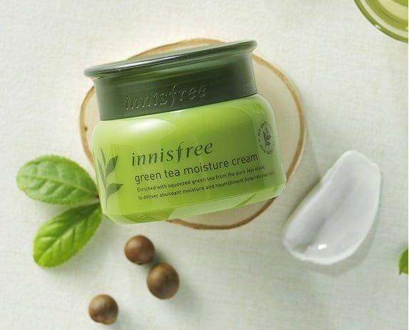 Kem Dưỡng Ẩm Trà Xanh Innisfree Green Tea 50ml