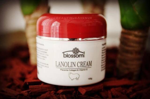 Kem nhau thai cừu Blossom lanolin collagen & vitamin e 1