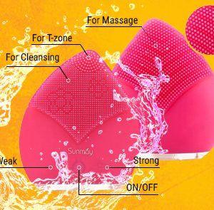 Tính năng nổi bật của Máy rửa mặt massage Sunmay