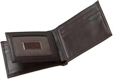 Ví da nam Calvin Klein Bifold Wallet kèm móc khóa 3