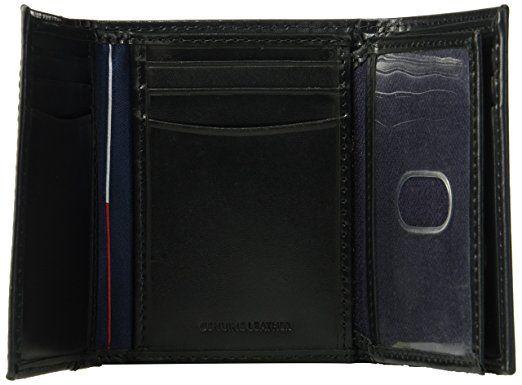 Ví da nam Tommy Hilfiger Men's RFID Blocking Trifold Wallet 4