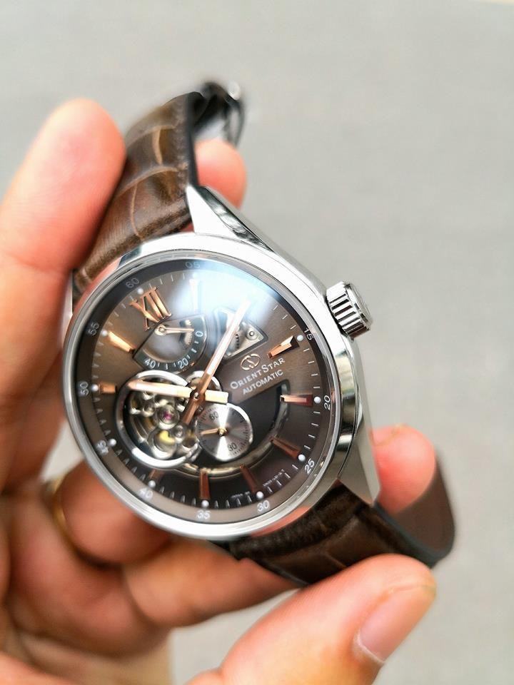 Đồng hồ Orient Skeleton SDK05004K