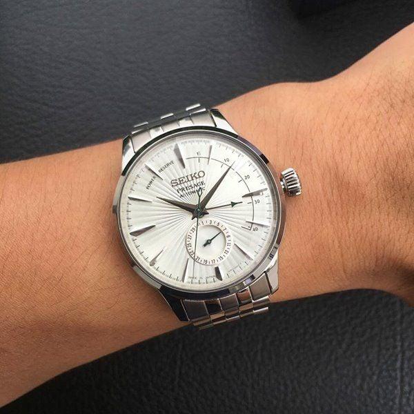 Đồng hồ Seiko nam SSA341J1 trên tay sang trọng, đẳng cấp