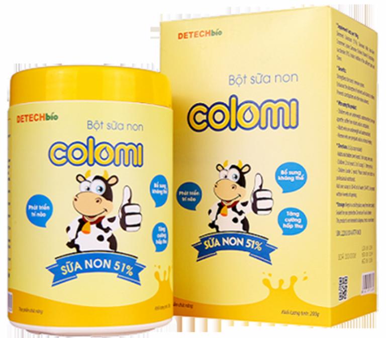 Sữa non Colomi dạng bột tăng sức đề kháng cho bé