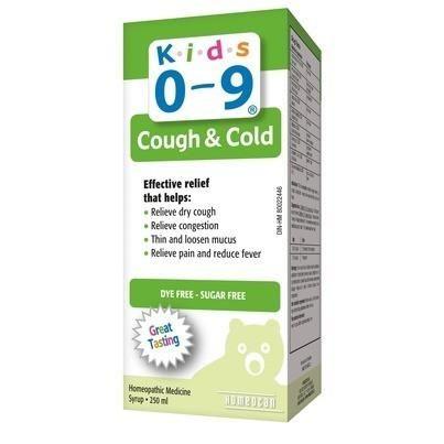 Siro ho và cảm lạnh Cough & Cold Syrup for Kids 0-9y