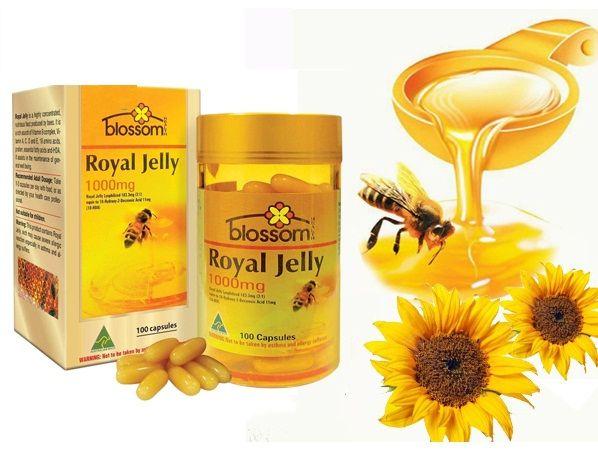 Sữa ong chúa Blossom Royal Jelly 1000mg