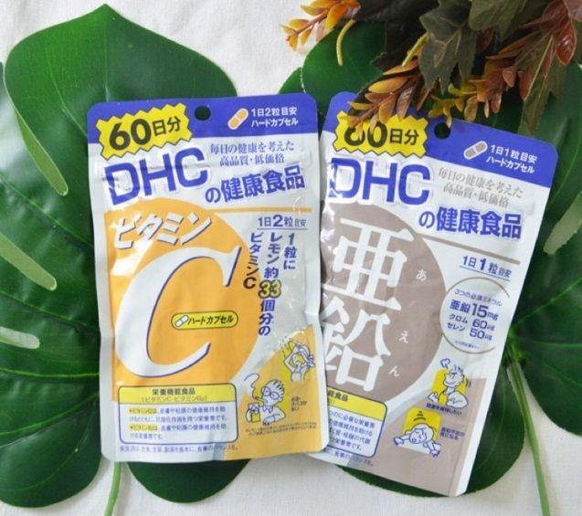 Viên Hỗ Trợ Bổ Sung Kẽm DHC Nhật Bản