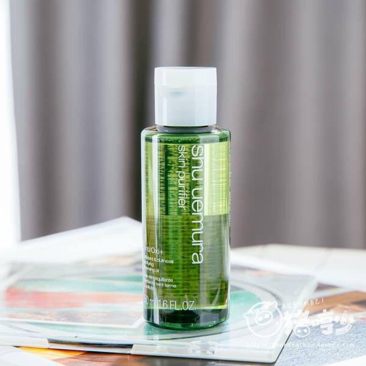Tẩy trang Shu Uemura dễ dàng loại bỏ lớp make up cùng bụi bẩn, chất bã nhờn tích tụ trên da