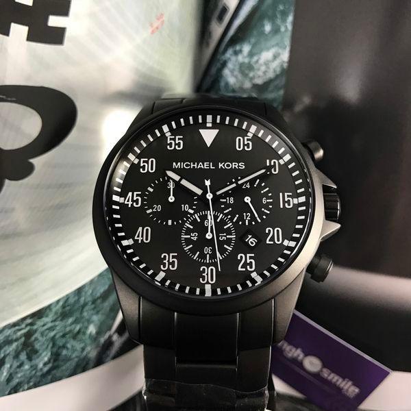 Đồng hồ Michael Kors Mk8414 là sự kết hợp giữa hai màu đen trắng tạo cảm giác mạnh mẽ và đầy quyền lực