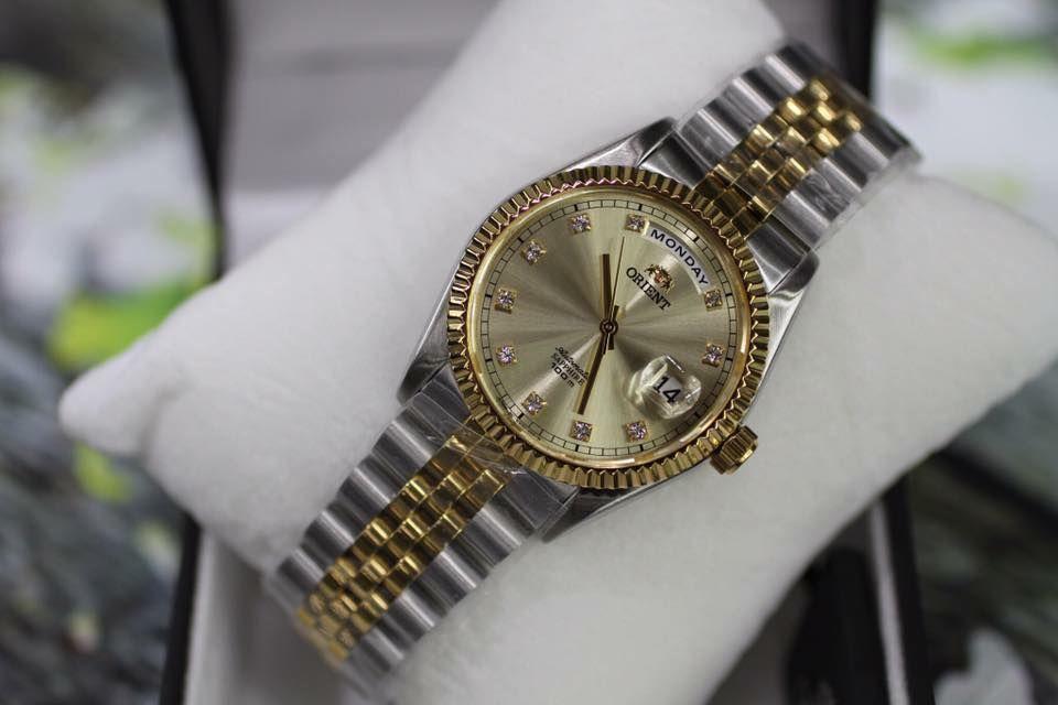 Đồng hồ Orient FEV0J002CY dây demi 3