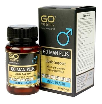 Go Man Plus - tăng cường sinh lý và chậm mãn dục Nam giới