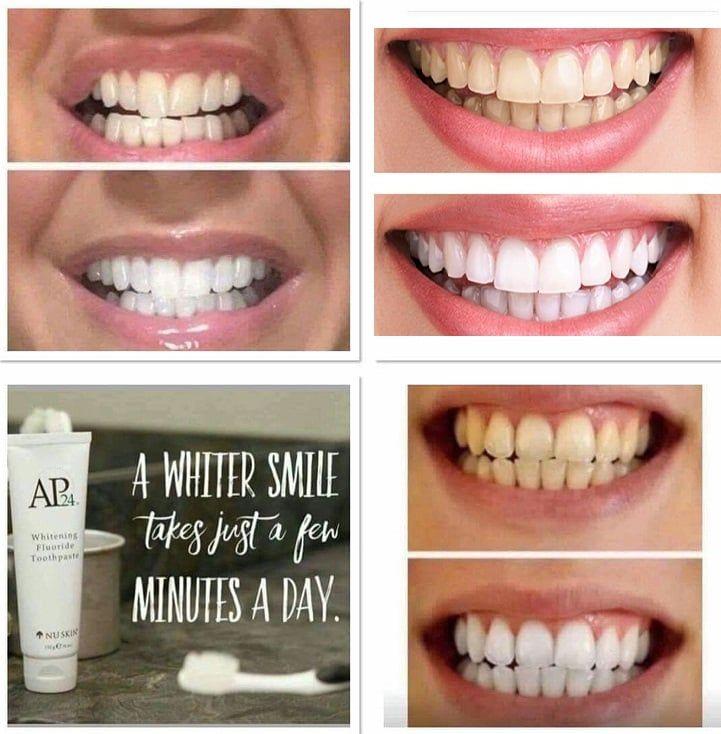 Kem đánh răng AP24 loại bỏ các mảng bám trên răng, giúp răng sạch và sáng bóng
