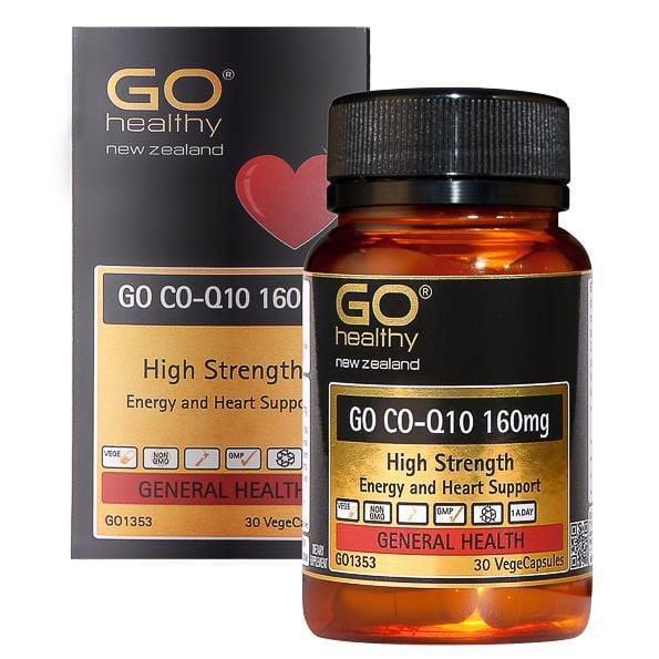 Viên uống hỗ trợ tai biến tim mạch GO Co-Q10 160mg