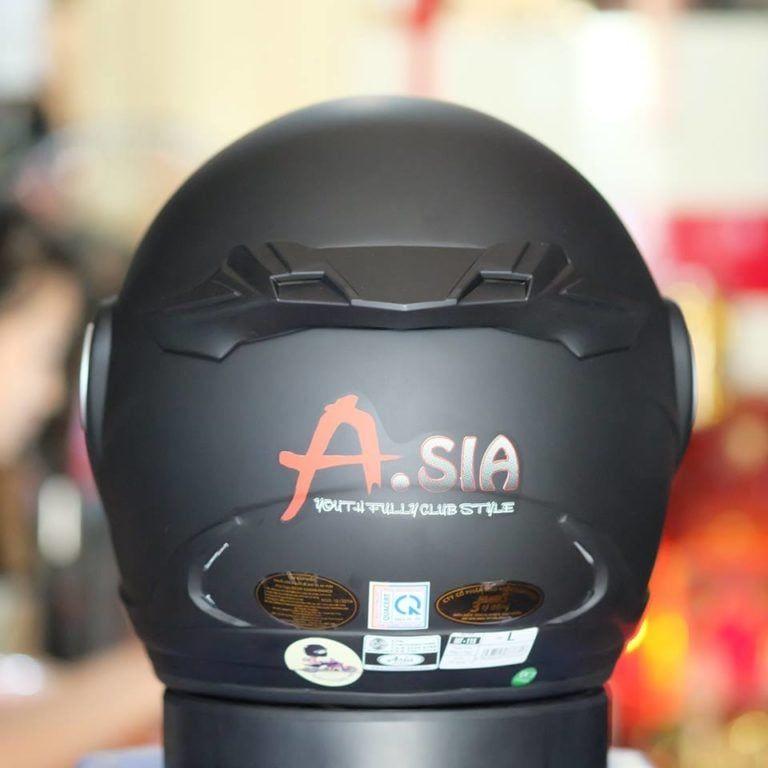 Mũ Bảo Hiểm 3/4 Asia M168 Có Kính 2