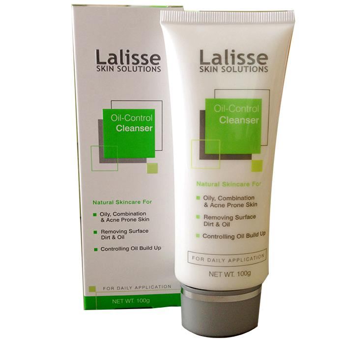 Sữa rửa mặt kiềm dầu trị mụn Lalisse oil control cleanser
