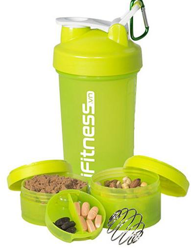 Bình lắc iFitness Pro Shaker 4 in 1 cao cấp 3