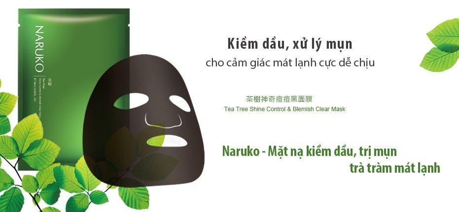 Mặt Nạ trị mụnTràm Trà Naruko Tea Tree 2