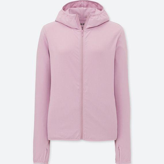 Áo chống nắng Uniqlo AiRism chất thun lạnh mẫu 2019 màu 10 Pink
