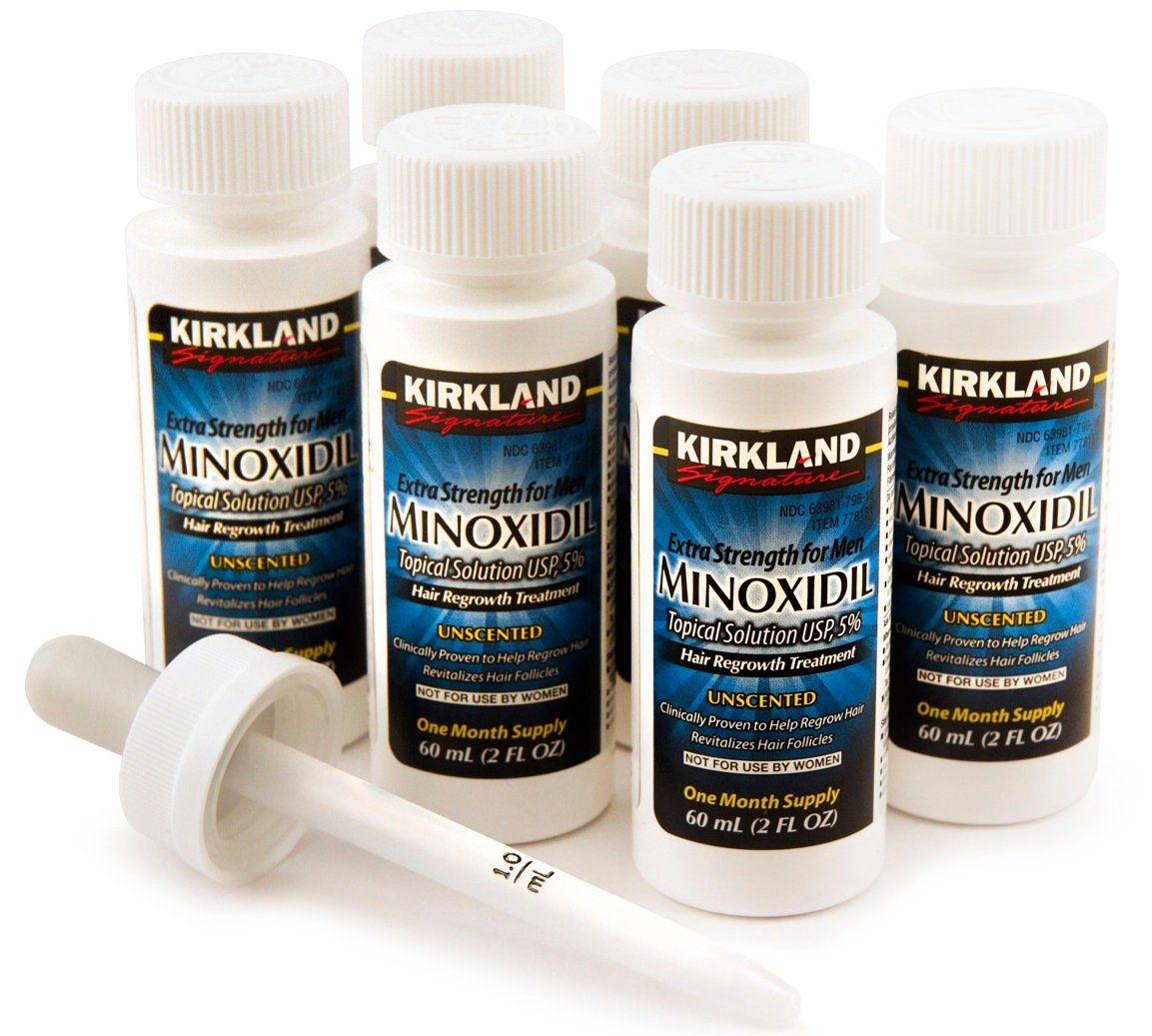 Dung dịch mọc tóc, mọc râu Minoxidil 5% Kirkland của Mỹ 4