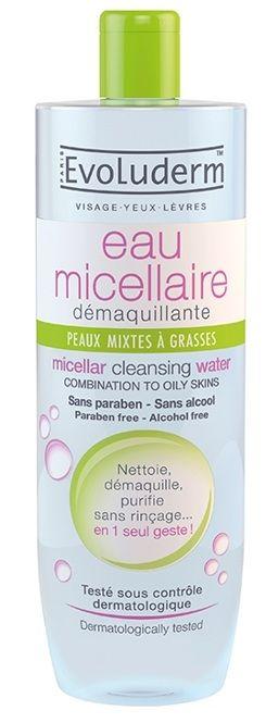Nước Tẩy Trang Evoluderm Eau Micellar Cleansing Water 3