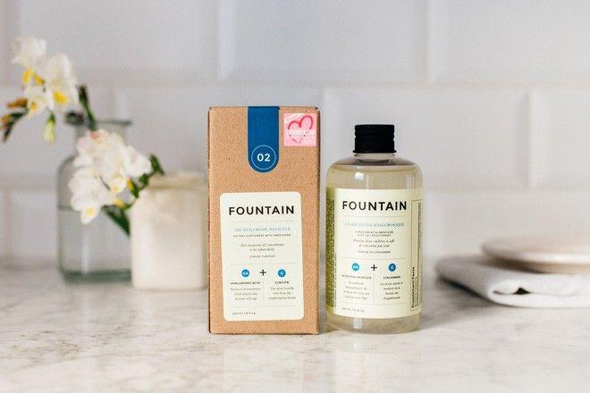 Nước uống làm đẹp toàn diện The Fountain Hyaluronic Molecule 1