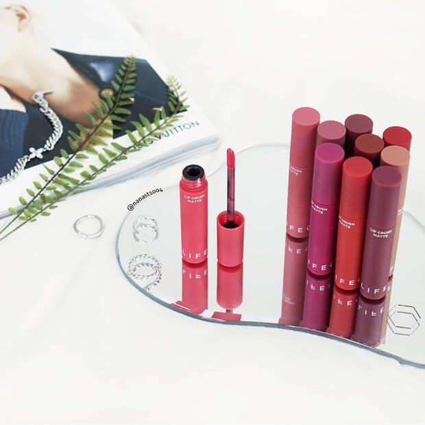 Son kem lì It's Skin Life Color Lip Crush Matte - Hàn Quốc 2