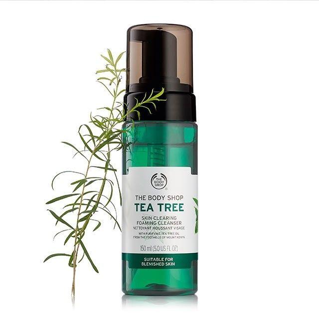 Sữa Rửa Mặt dạng bọt The Body Shop Tea Tree Skin Clearing Foaming Cleanser 1