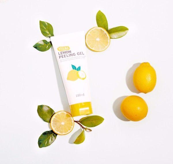 Gel tẩy da chết hoa quả trắng da Yosuaapeeling Lemon Peeling 3