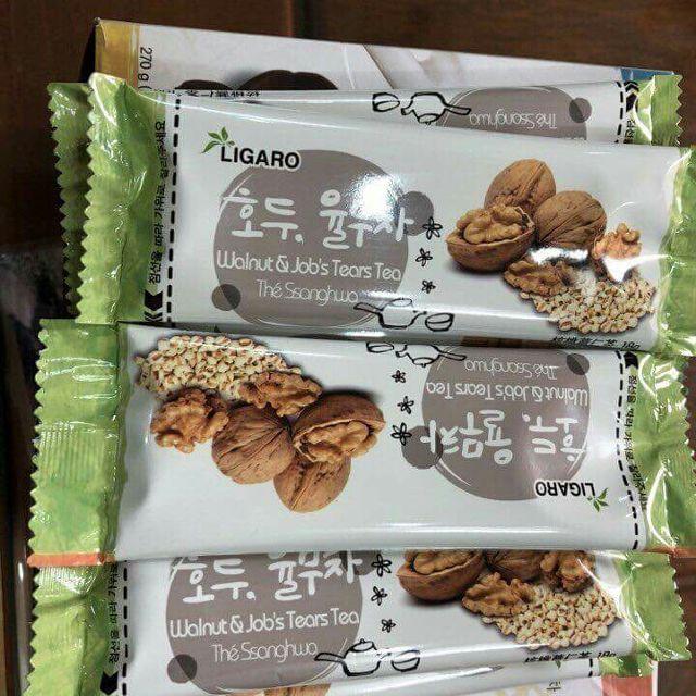 Bột óc chó Ligaro Hàn Quốc 50 gói x 18g 2