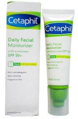 Kem chống nắng dưỡng ẩm Cetaphil daily facial moisturizer spf 50+ 1