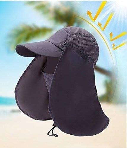 Mũ chống nắng Nhật Bản chống tia UV màu đen