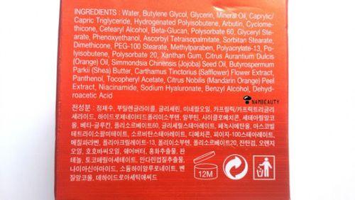 Kem dưỡng da C20 vitamin sleep 9 to 5 crema - Hàn Quốc 3