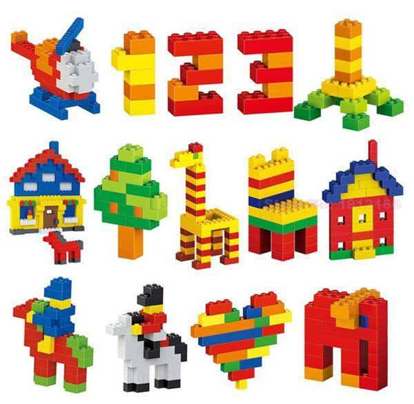 Bộ đồ chơi Lego lắp ráp 1000 chi tiết cho bé 3