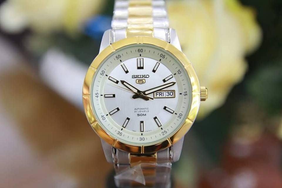 Đồng hồ Seiko 5 SNKN58K1 máy Automatic cho nam 1