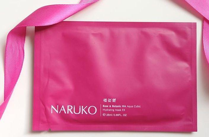 Mặt nạ hoa hồng nhung cấp nước Naruko 2