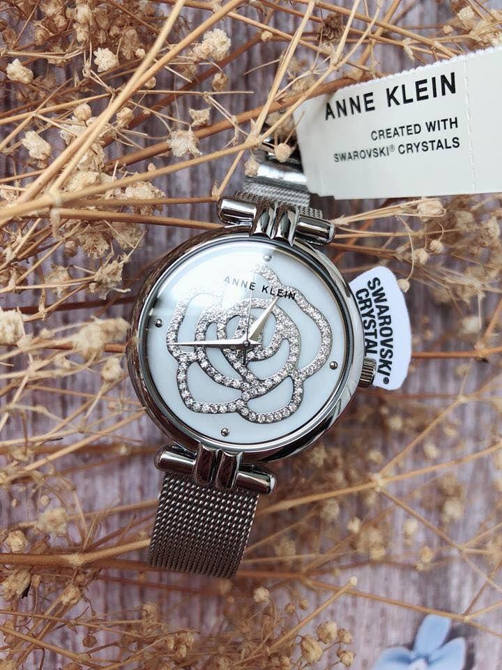 Đồng hồ Anne Klein Swarovski AK/3103MPSV dây lưới 1